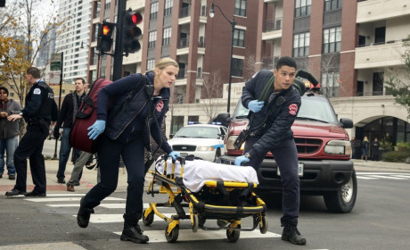 Brett and Mills to the Rescue - Chicago Fire Season 3 Episode 9