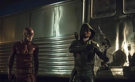 The Flash and The Arrow Season 3 Episode 8