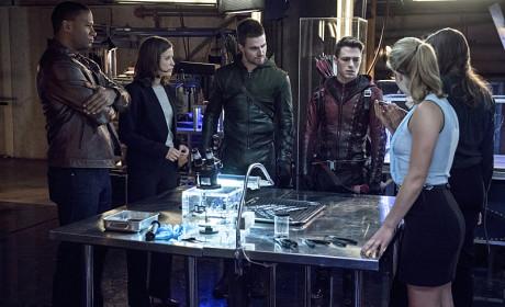 Teams Arrow and Flash