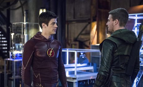 Barry and Oliver - Arrow