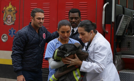 Baby gets a check up - Chicago Fire Season 3 Episode 10