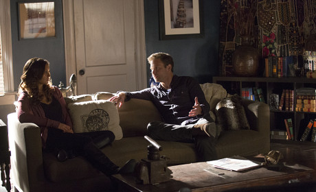 Alaric with Elena - The Vampire Diaries Season 6 Episode 10