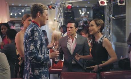 Nolan and Agent Taylor - Revenge Season 4 Episode 10
