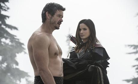 Careful Pops - Arrow Season 3 Episode 9