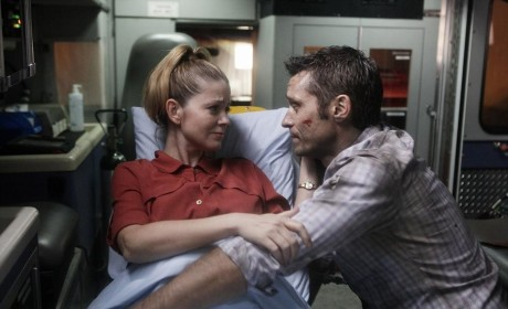 Kevin and Jenny Ryan on Castle Season 6 Episode 11