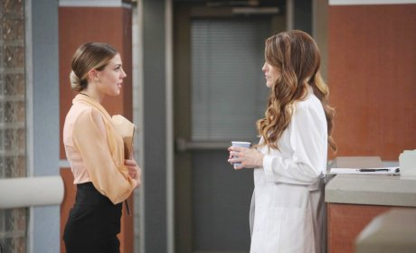 Abigail Lies to Jordan - Days of Our Lives