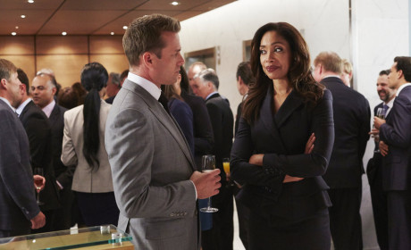 Champagne and Sly Smiles - Suits Season 4 Episode 11