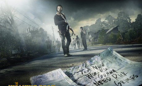 The Walking Dead Return Poster: The New World's Gonna Need Rick Grimes