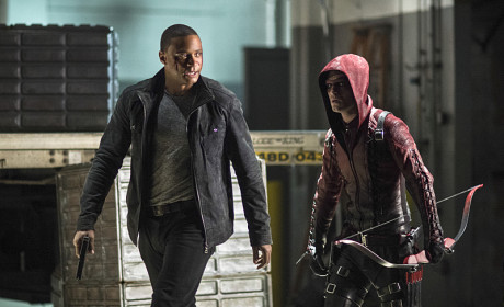 Heroes - Arrow Season 3 Episode 10