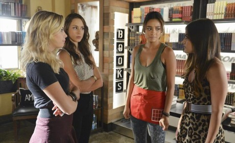 Liars Pow Wow - Pretty Little Liars Season 5 Episode 18