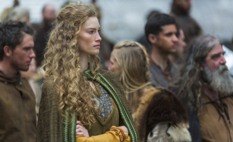 Queen Aslaug Watches - Vikings Season 3 Episode 1