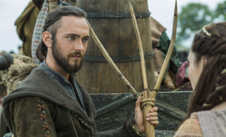 Athelstan Speaks to Judith - Vikings Season 3 Episode 1