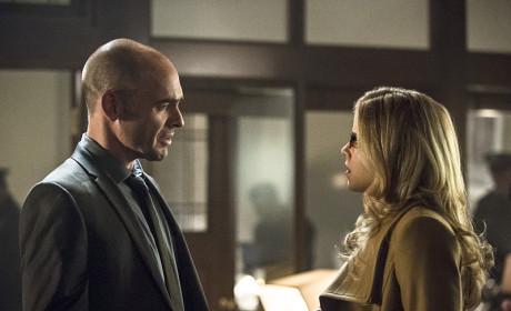 Capt. Lance and Felicity - Arrow Season 3 Episode 11