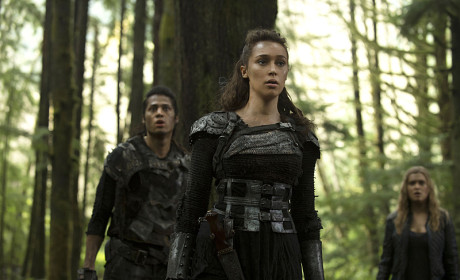 Lexa Leads the Way - The 100 Season 2 Episode 10