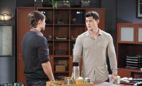 Paul Tells Will - Days of Our Lives