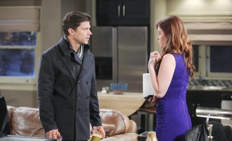 Serena Finds Something - Days of Our Lives