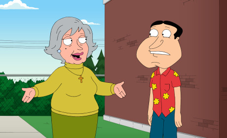 Mom Arrives - Family Guy