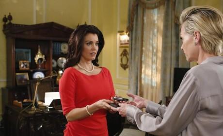 Mellie and Elizabeth - Scandal Season 4 Episode 11