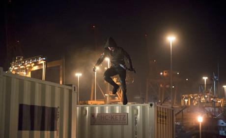 Jumping Again! - Arrow Season 3 Episode 13
