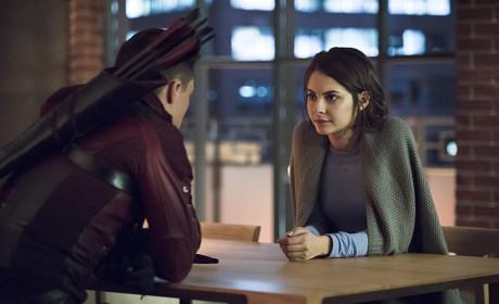 Roy and Thea - Arrow Season 3 Episode 13