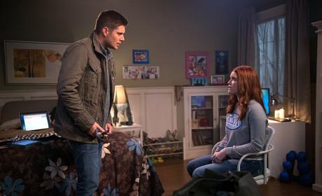 Computer Question - Supernatural Season 10 Episode 13