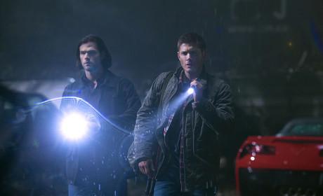 Flashlights On - Supernatural Season 10 Episode 13