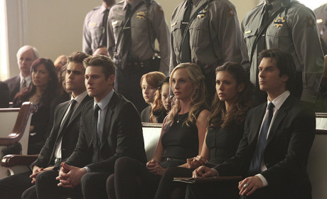 At Attention - The Vampire Diaries Season 6 Episode 15