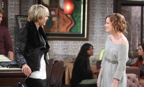 Melanie Seeks Nicole's Help - Days of Our Lives