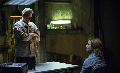 Flashback with the General - Arrow Season 3 Episode 15
