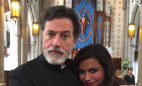 Stephen Colbert to Guest Star on The Mindy Project: HOLY Moly!