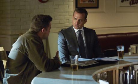 Suits Finale Q&A: Gabriel Macht on Love for Donna, Flashbacks & Season 5!