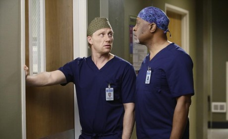 Owen and Richard - Grey's Anatomy Season 11 Episode 14