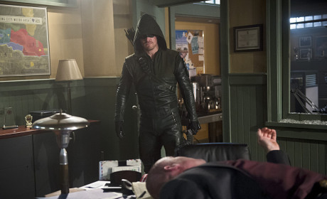 Capt. Down - Arrow Season 3 Episode 16