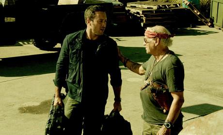 Steve and Frank - Hawaii Five-0 Season 5 Episode 18