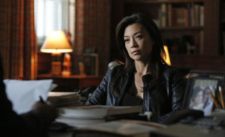 Agent May Listens Intently - Agents of S.H.I.E.L.D. Season 2 Episode 13
