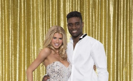 Charlotte McKinney and Keo Motsepe - Dancing With the Stars