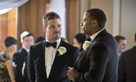 Best Man Duties - Arrow Season 3 Episode 17