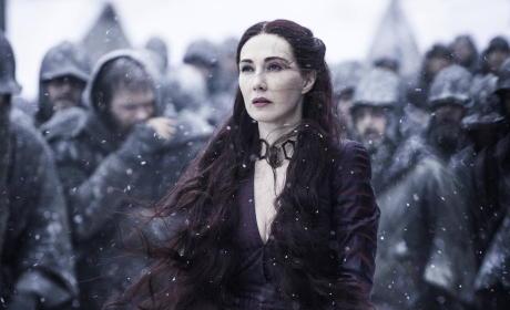 Melisandre Concerned - Game of Thrones
