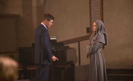 A Nun and Dean - Supernatural Season 10 Episode 16