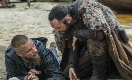 Ragnar and Athelstan Talk - Vikings Season 3 Episode 6