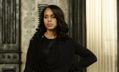 Peeved Olivia Pope - Scandal Season 4 Episode 18