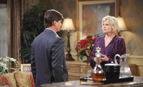 Lucas and Adrienne Clash - Days of Our Lives