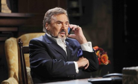 Stefano Phones Chad - Days of Our Lives
