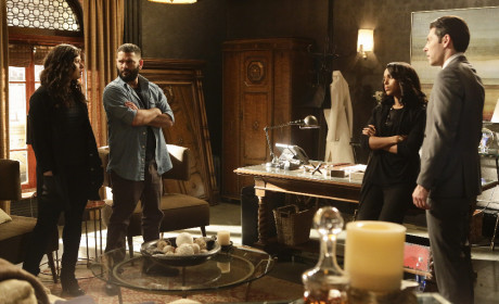 OPA Planning Session - Scandal Season 4 Episode 18