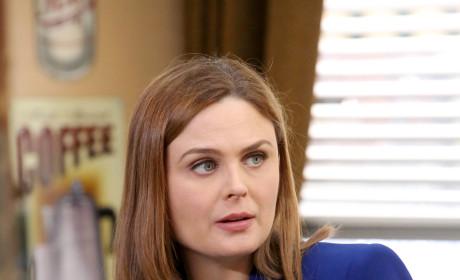 Brennan Talks to Booth - Bones Season 10 Episode 12