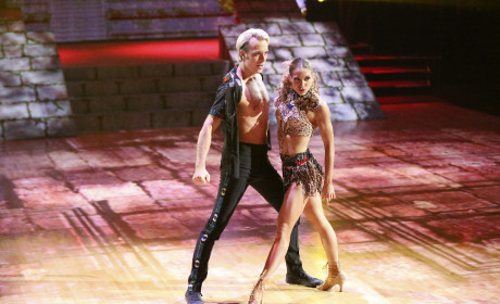 Riker and Allison: Salsa - Dancing With the Stars Season 20 Episode 3