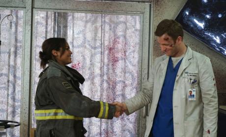 An Awkward Introduction - Chicago Fire Season 3 Episode 19