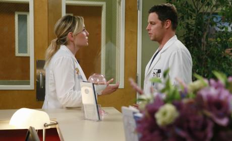 Arizona and Alex - Grey's Anatomy Season 11 Episode 20