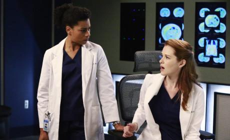 Maggie and April - Grey's Anatomy Season 11 Episode 20