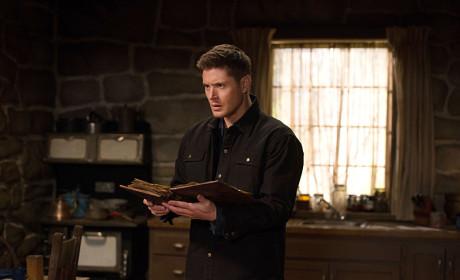 Dean Reading - Supernatural Season 10 Episode 18